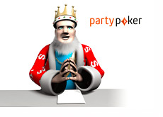 The King is reporting the latest news about Party Poker