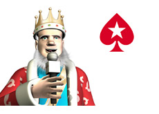 The King is reporting on the latest grolongo happenings at Pokerstars