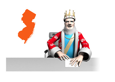The Poker King is reporting on the latest news and numbers from New Jersey