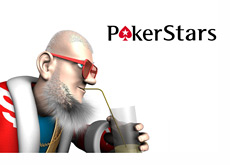 The King is sipping on his morning juice admiring Ilari Ilari FIN Sahamies and the largest cash pot he took at Pokerstars