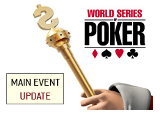 -- poker king golden cane and the wsop logo --