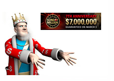 The King Presents - Sunday Million 7 Year Anniversary