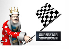 The King presents the final Pokerstars Superstar Showdown score