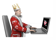 Poker King is surfing the Full Tilt website