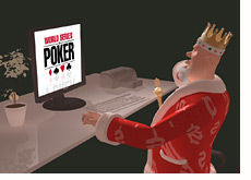 poker king is surfing the wsop website - deep into the lateness