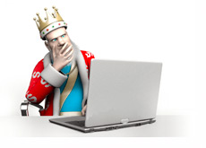 The King is a little suspicious about the latest developments in regards to legalizing poker in the United States