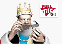 The King is waiting for the Full Tilt Poker decision while cleaning his sunglasses