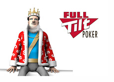 The King is sitting on the wall and giving the latest Full Tilt Poker update