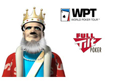 The King next to the WPT and FTP logos