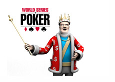 The King is presenting the 2012 WSOP logo