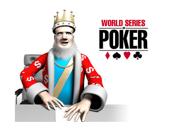 The King is reporting on the latest from the 2015 World Series of Poker (WSOP) tournament from his studio
