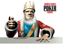 The King is reporting from the WSOPE - World Series of Poker Europe