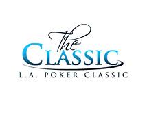 -- L.A. Poker Classic logo - white --