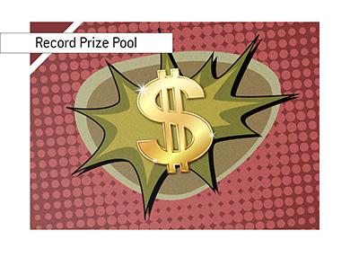 Largest prize pool - Partypoker Millions - December 2018.
