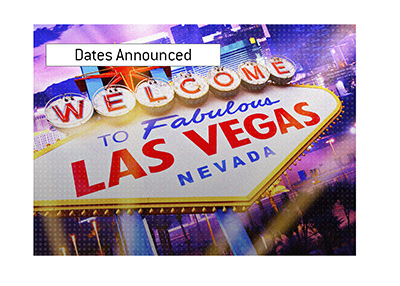 It is Las Vegas time again.  Book your tickets for the upcoming world series tournament.