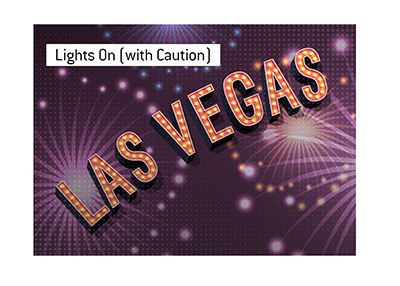 Las Vegas - Lights are coming back on (with caution).