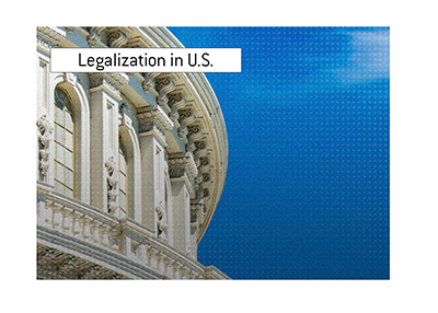 The legalization in United States is a topic ahead of the upcoming elections.