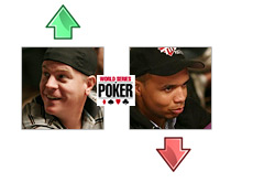 wsop 2008 - world series of poker - eric lindgren and phil ivey