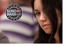 Liv Boeree - Pokerstars Sunday Warm-up Logo