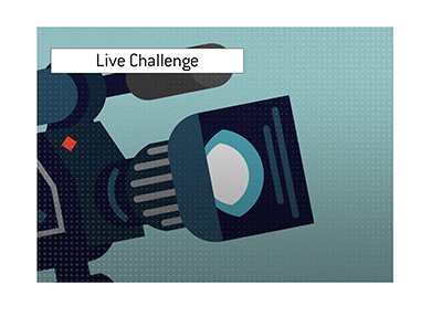 The live poker challenge in the spotlight.