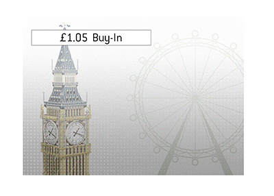 The largest buy-in poker tournament is to take place in London, England.  Illustration.