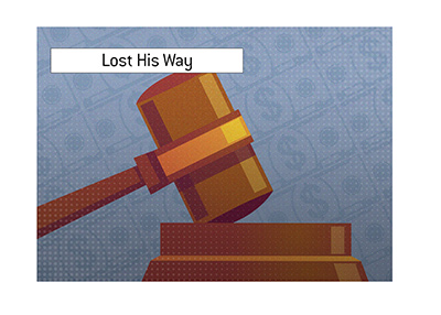An man well-known in the poker world has lost his way and pleaded guilty for embezzlement.