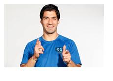 Luis Suarez - 888 Poker - Promotional Image