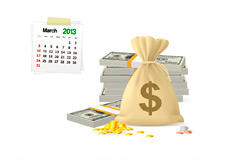 March 2013 - Cash Winners - Illustration