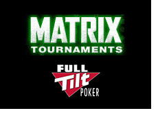 poker room full tilt - introduces matrix tournaments