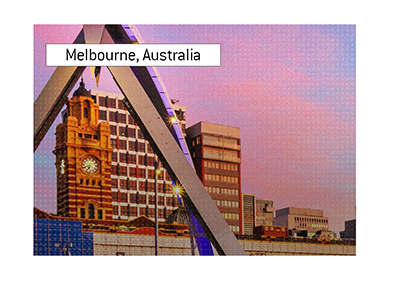 The beautiful city of Melbourne, Australia, is a home to a big January poker tournament.