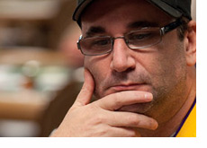 Mike Matusow in the Thinking Zone