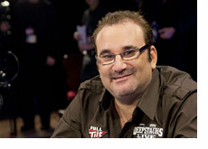 Mike Matusow in the spotlight