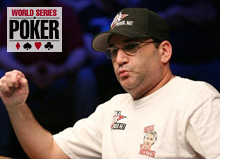 poker player mike matusow - world series of poker 2008 - wsop