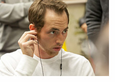 Mike Sowers is dialed in and focused
