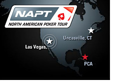 -- North American Poker Tour - NAPT - logo - tournament map --