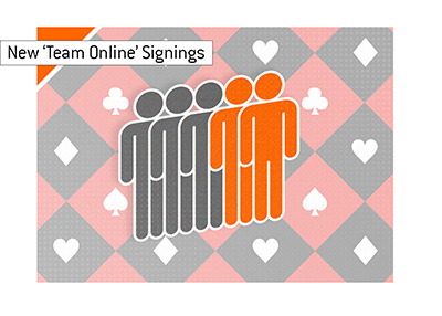 partypoker Team Online - two new members added.  The total is now 5.