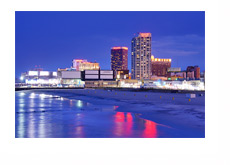 New Jersey - Atlantic City - Night Photo
