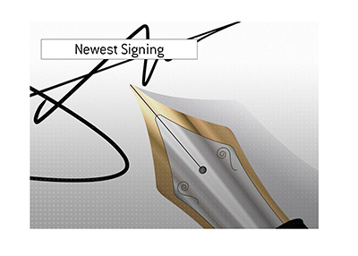 The newest addition to the team.  Signature. Illustration.
