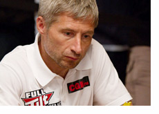 Nikolay Evdakov at the World Series of Poker 2010