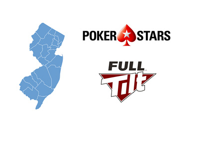 New Jersey - Pokerstars and Full Tilt Poker - New logos - Year 2016