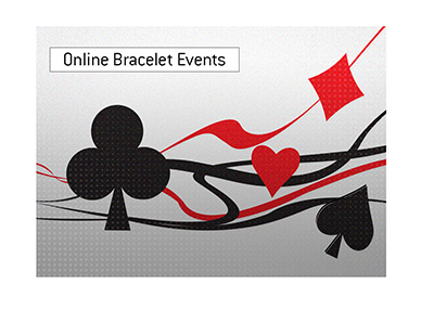 The summer tournament will offer fourteen online bracelet events.