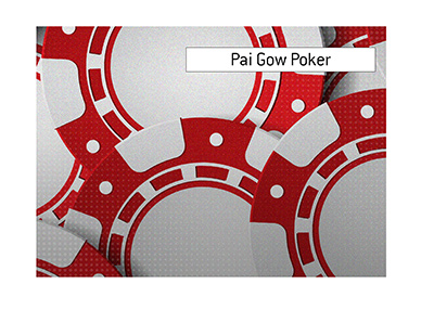 The King talks about the poker game Pai Gow and its recent rise in popularity.  What are the rules of this game?