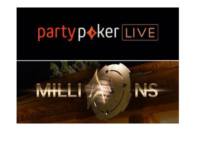 Party Poker Live Tournament - Millions - Germany - 2018 logo.