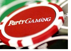 party gaming poker chip - partygaming - company in trouble