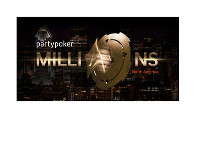 Partypoker Millions - Live - North America - 2018 - Promo poster.