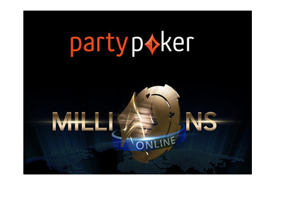 PartyPoker Millions Online - Year 2017.