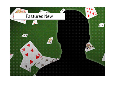 A known poker player left for pastures new a long while ago.