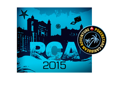 PCA 2015 - Logo - Collage - Pokerstars Caribbean Adventure - Blue Colour