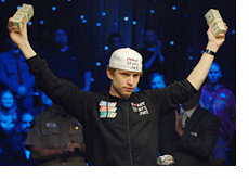 Peter Eastgate - Winner of WSOP 2008