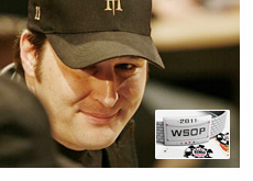 Phil Hellmuth eying the 2011 WSOP bracelet